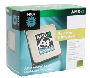 AMD Athlon 64 X2 6400 Windsor Dual-Core 3.2 GHz Socket AM2 CPU